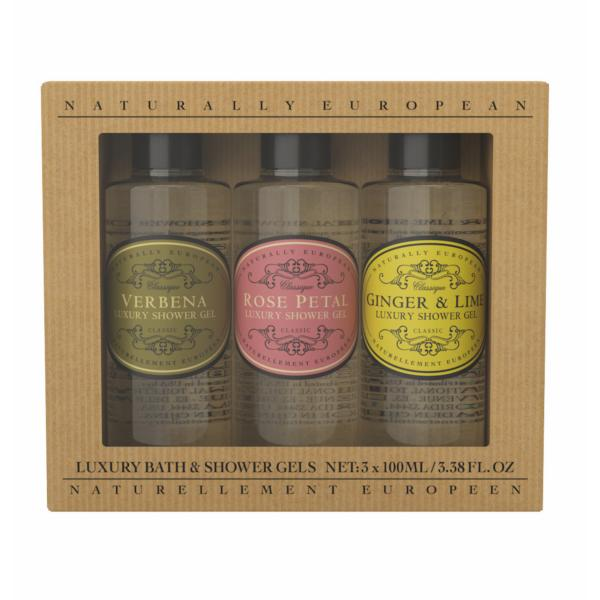 STC - Naturally European Mini Shower Gel Collection