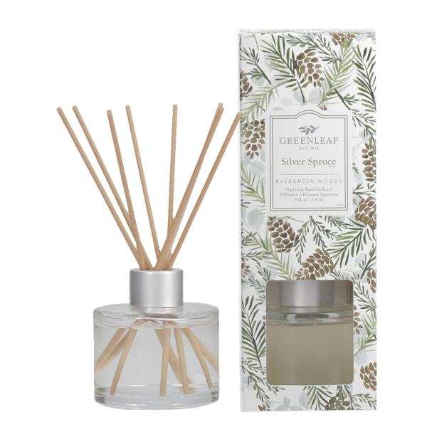 Greenleaf - Signature Reed Diffuser - Silver Spruce Δ•