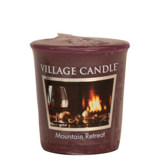 Village Candle - Votivkerze - Mountain Retreat
