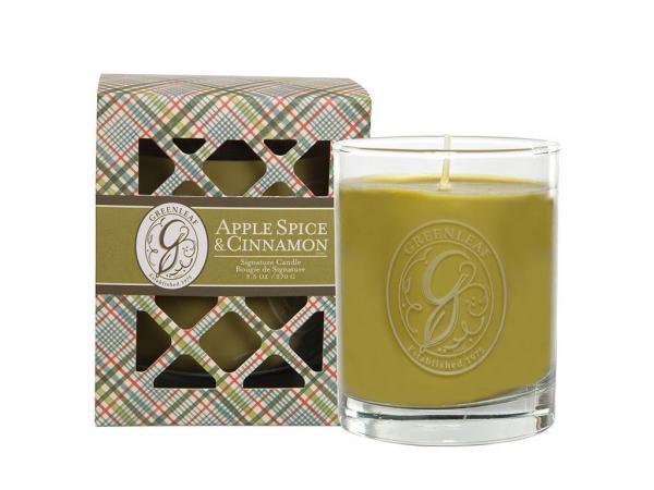 Greenleaf - Duftkerze im Glas - Signature Candle - Apple Spice & Cinnamon