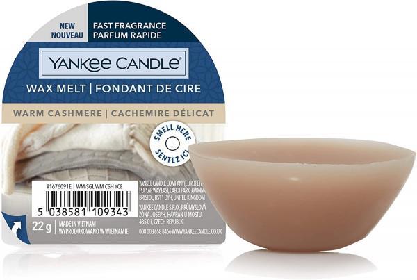 Yankee Candle - Wax Melt - Duftwachs - Warm Cashmere