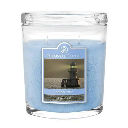 Colonial Candle - Kleine Duftkerze im Glas - Oval Collection - Harbor Mist