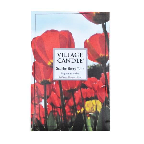 Village Candle - Duftsachet - Scarlett Berry Tulip