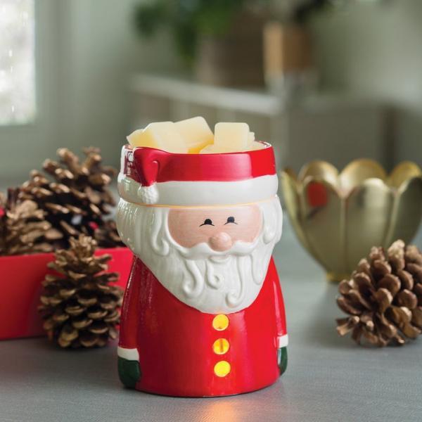Candle Warmers - Elektrische Duftlampe - Santa Claus (Keramik)