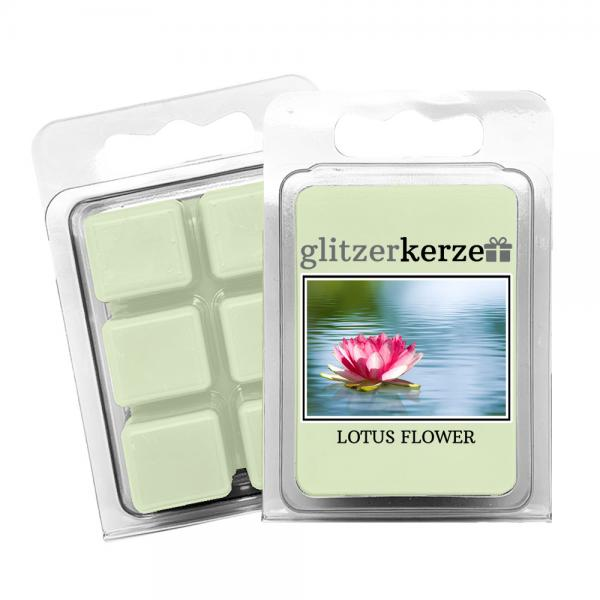 glitzerkerze - Duftwachs Lotus Flower