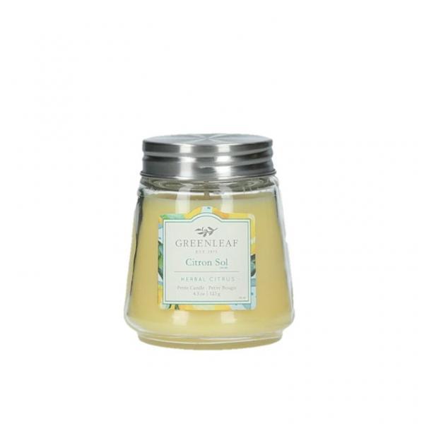 Greenleaf - Duftkerze im Glas - Petite Candle - Citron Sol
