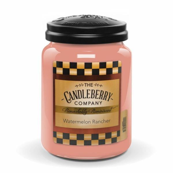 Candleberry - Duftkerze im Glas - Watermelon Rancher