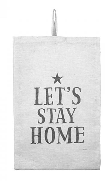 L.I.L. - Baumwoll Duftsachet Bag - Let's Stay Home - Large