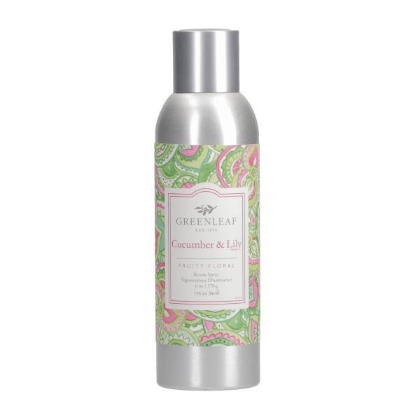 Greenleaf - Room Spray - Raumspray - Cucumber & Lily
