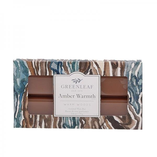 Greenleaf - Duftwachs / Wax Bar - Amber Warmth