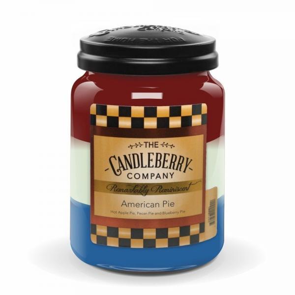Candleberry - Duftkerze im Glas - Amercian Pie