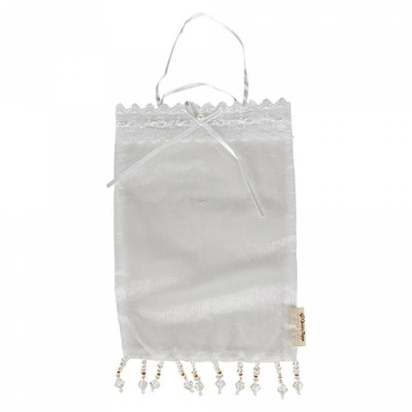 L.I.L.- Organza Duftsachet Bag - White Pearl - Large