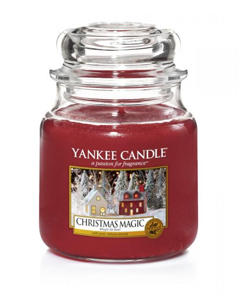 Yankee Candle - Classic Medium Jar Housewarmer - Christmas Magic Δ