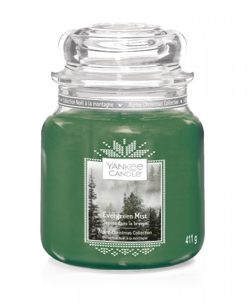 Yankee Candle - Classic Medium Jar Housewarmer - Evergreen Mist Δ