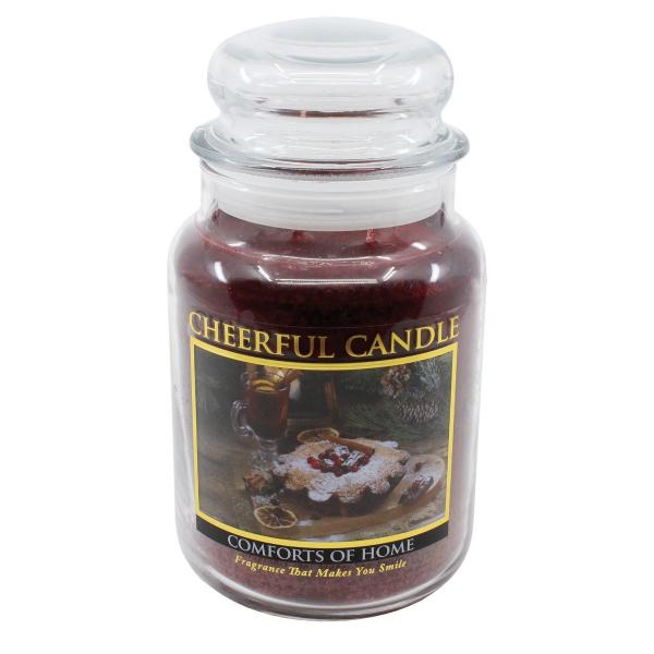 Cheerful Candle - Classic Large Jar - Duftkerze im Glas - Comforts Of Home