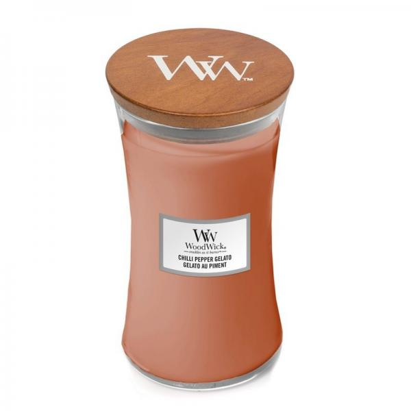 WoodWick - Large Hourglass Duftkerze - Chilli Pepper Gelato