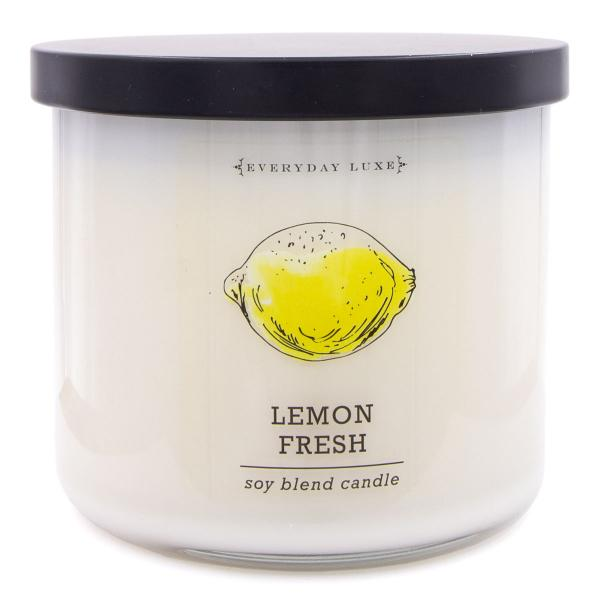 Colonial Candle - Mittlere Duftkerze im Glas - Everyday Luxe - Lemon Fresh