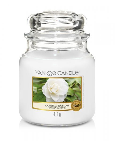 Yankee Candle - Classic Medium Jar Housewarmer - Camellia Blossom