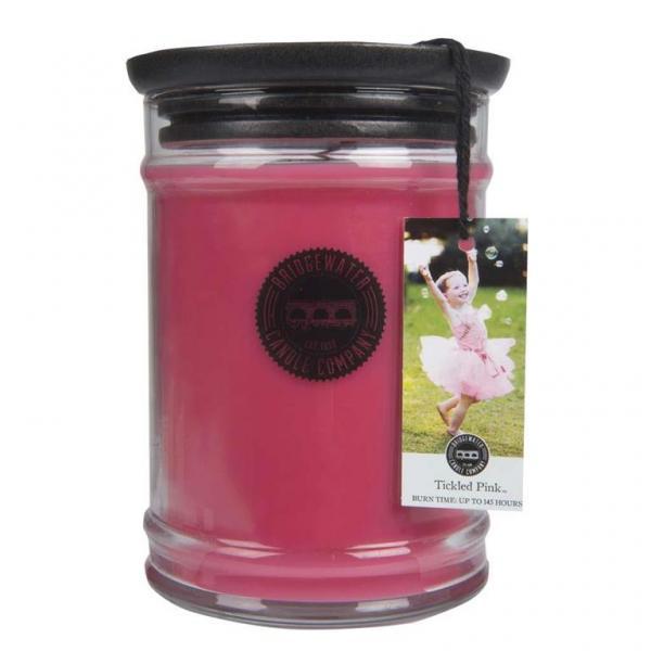 Bridgewater Candle - Große Duftkerze im Glas - Large Jar - Tickled Pink