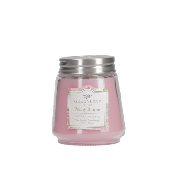 Greenleaf - Duftkerze im Glas - Petite Candle - Peony Bloom