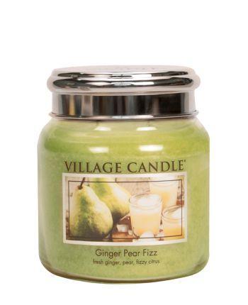 Village Candle - Medium Glass Jar - Ginger Pear Fizz