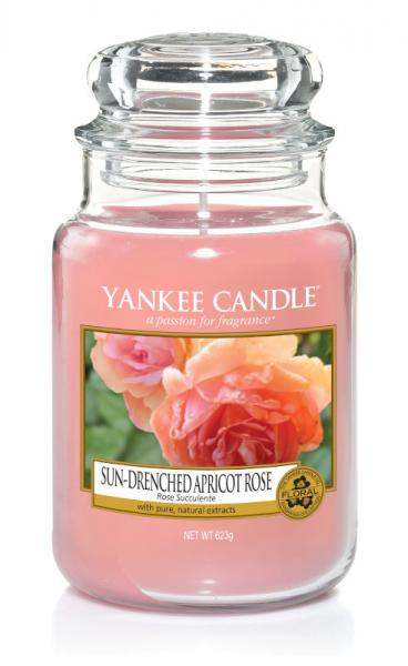 Yankee Candle - Classic Large Jar Housewarmer - Sun-Drenched Apricot Rose