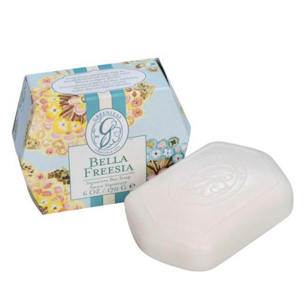 *Greenleaf - Signature Bar Soap - Seifenstück - Bella Freesia