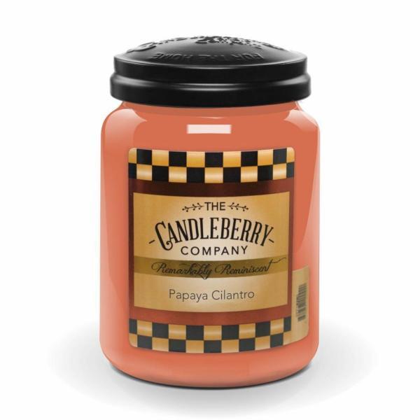 Candleberry - Duftkerze im Glas - Papaya Cilantro