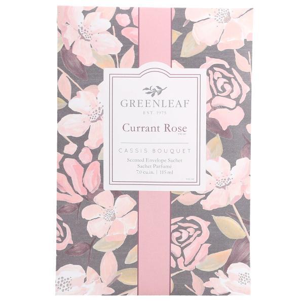 Greenleaf - Duftsachet Large - Currant Rose