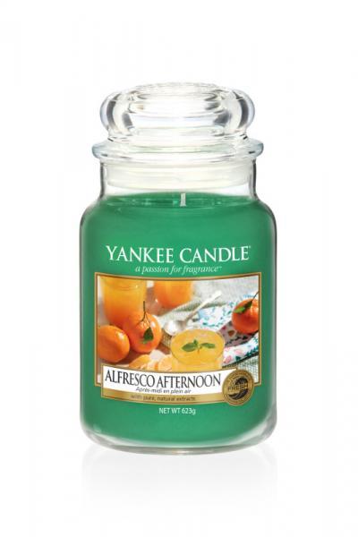 Yankee Candle - Classic Large Jar Housewarmer - Alfresco Afternoon