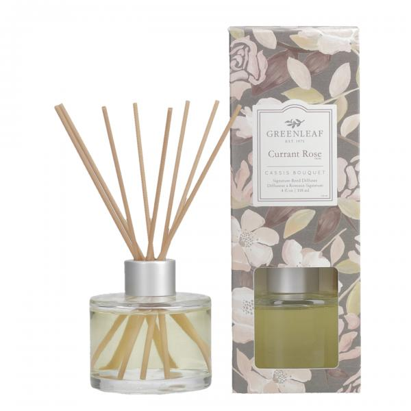 Greenleaf - Signature Reed Diffuser - Currant Rose