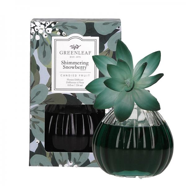 Greenleaf - Flower Diffuser - Shimmering Snowberry Δ