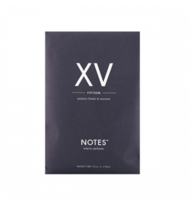 NOTES - Duftsachet - XV - Fifteen - Passion Flower & Coconut