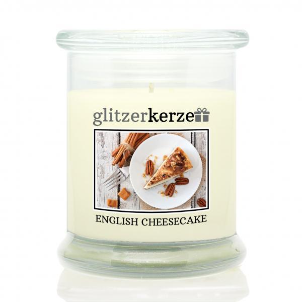 glitzerkerze - Duftkerze - English Cheesecake