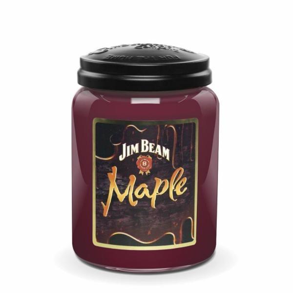Candleberry - Duftkerze im Glas - Jim Beam Maple