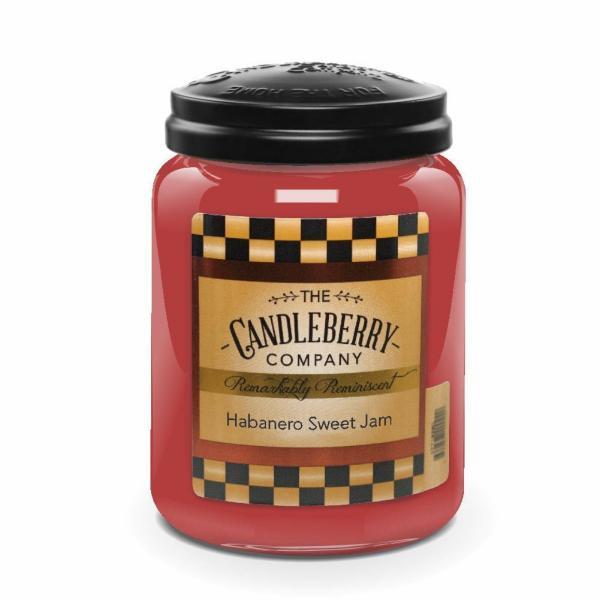 Candleberry - Duftkerze im Glas - Habanero Sweet Jam