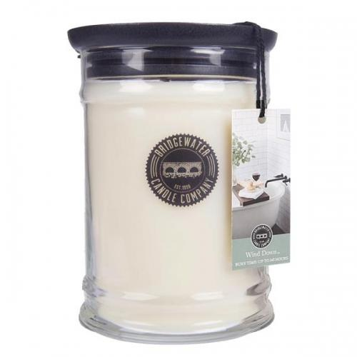 Bridgewater Candle - Große Duftkerze im Glas - Large Jar - Wind Down