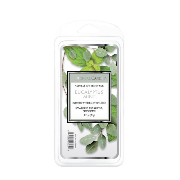 Colonial Candle - Duftwachs - Eucalyptus Mint