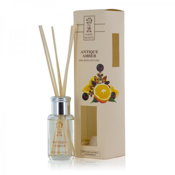 Ashleigh & Burwood - Earth Secrets - Mini Reed Diffuser - Antique Amber
