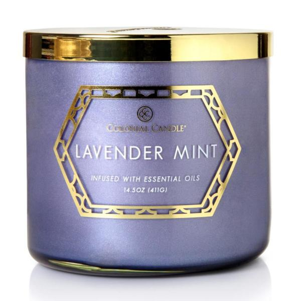 Colonial Candle - Mittlere Duftkerze im Glas - Everyday Luxe - Lavender Mint