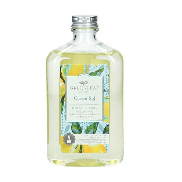 Greenleaf - Reed Diffuser Oil - Reedöl - Citron Sol