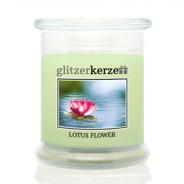 glitzerkerze - Duftkerze - Lotus Flower