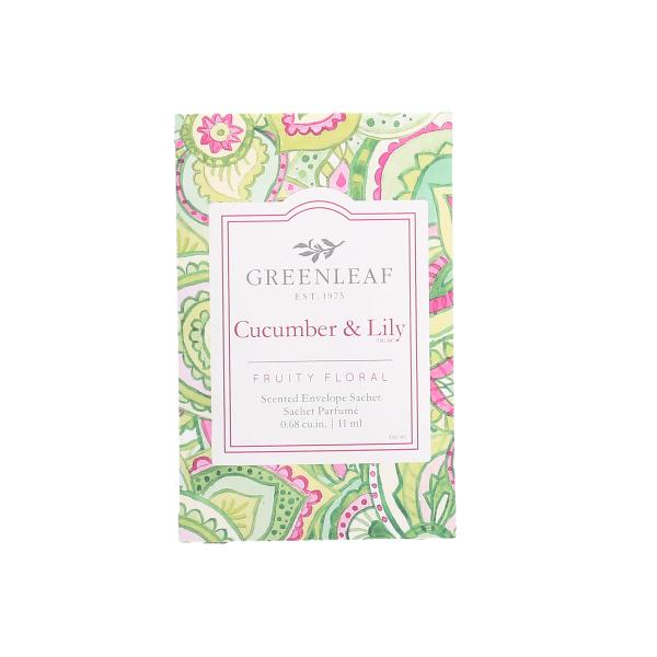 Greenleaf - Duftsachet Small - Cucumber & Lily
