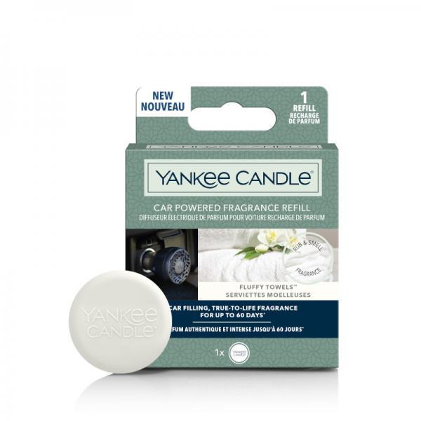 Yankee Candle - Elektrischer Autoduft - Nachfüller / Refill - Fluffy Towels
