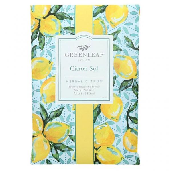 Greenleaf - Duftsachet Large - Citron Sol