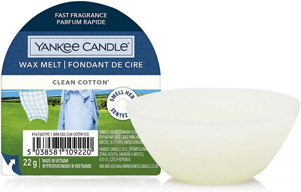 Yankee Candle - Wax Melt - Duftwachs - Clean Cotton
