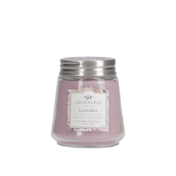 Greenleaf - Duftkerze im Glas - Petite Candle - Lavender