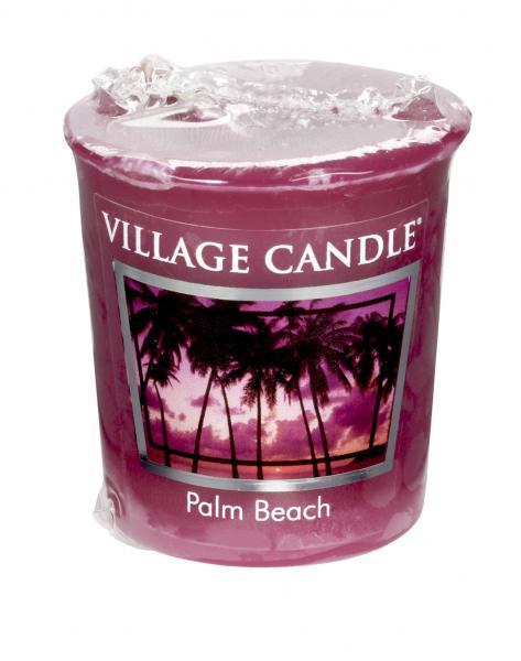 Village Candle - Votivkerze - Palm Beach