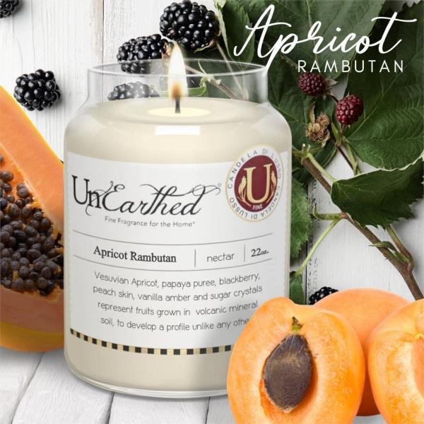 Candleberry - Duftkerze im Glas - Apricot Rambutan