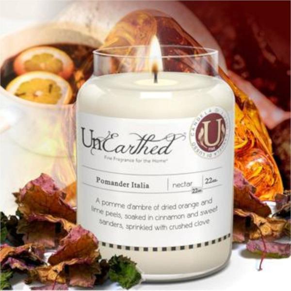 Candleberry - Duftkerze im Glas - Pomander Italia